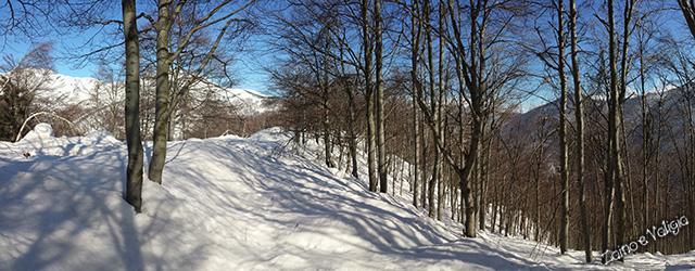 passeggiata neve bielmonte