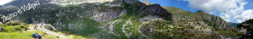 panoramica lago della vecchia