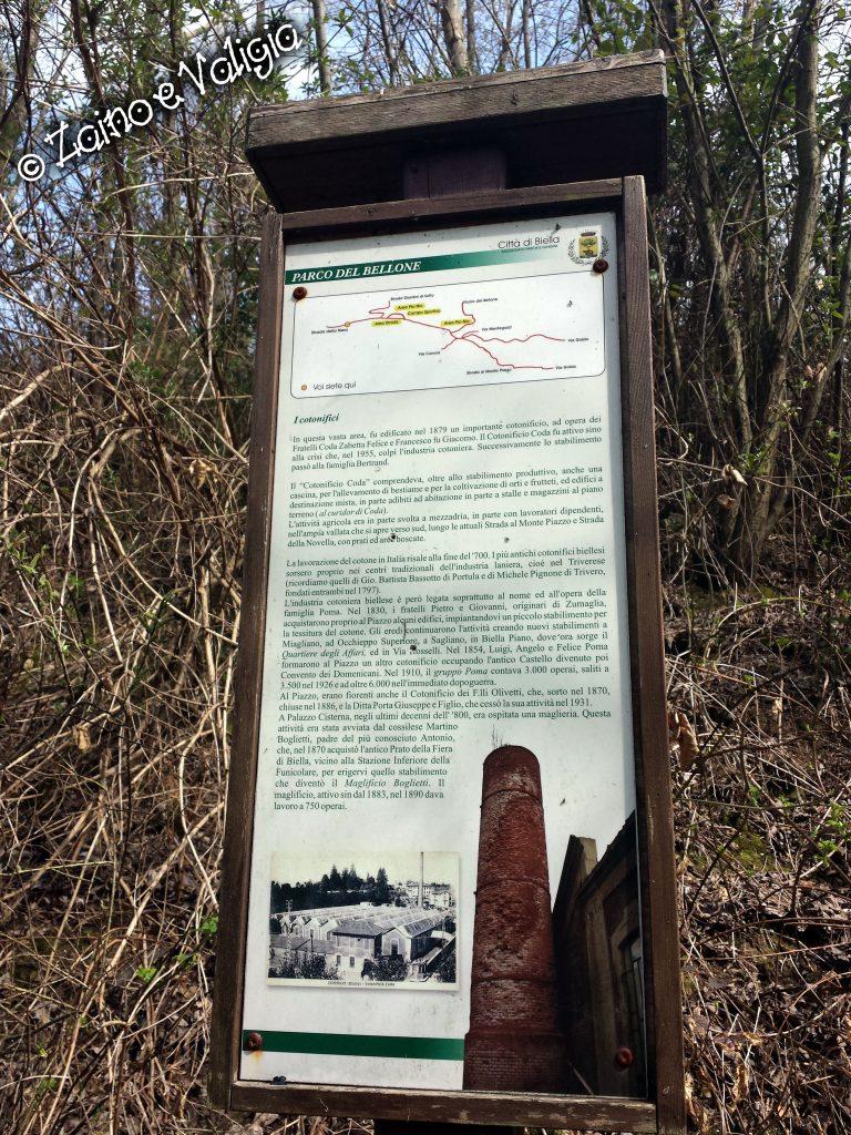 mappa parco del bellone