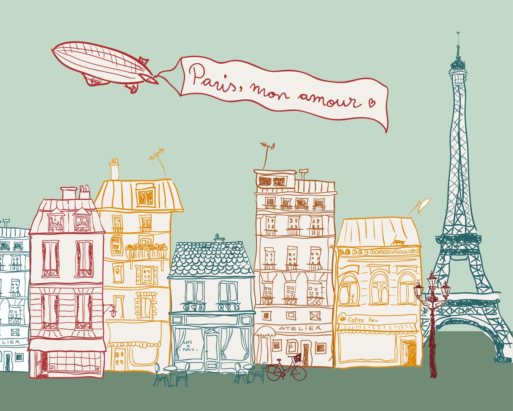 La magia di parigi zaino e valigia for Soggiornare a parigi