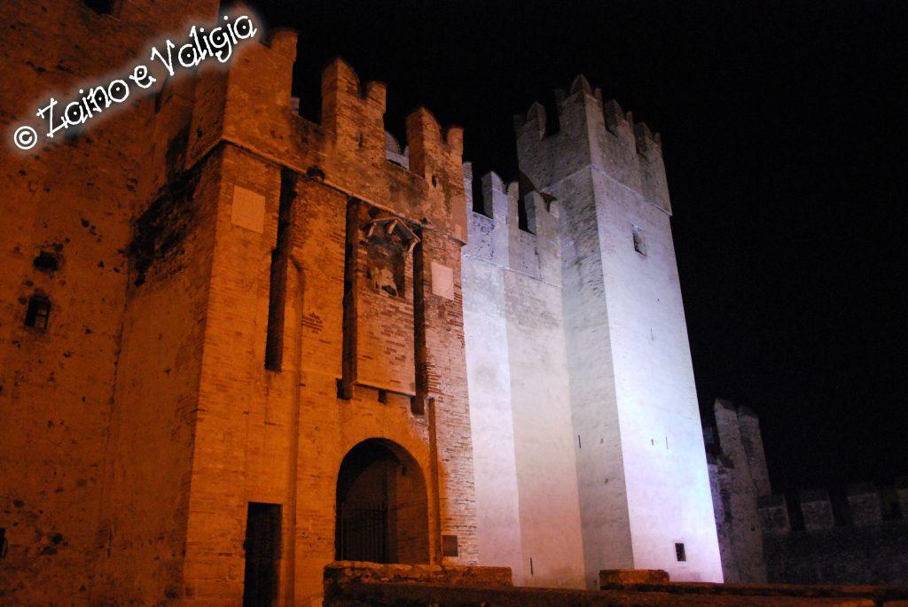 castello scaligero by night