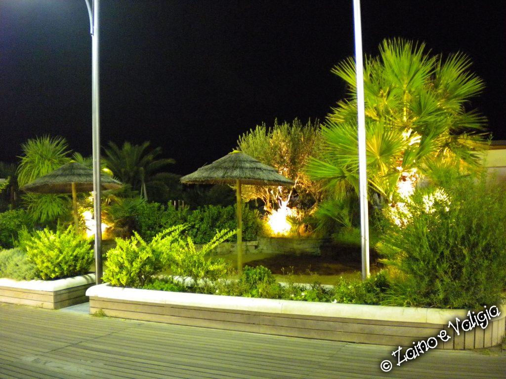 cattolica spiaggia by night