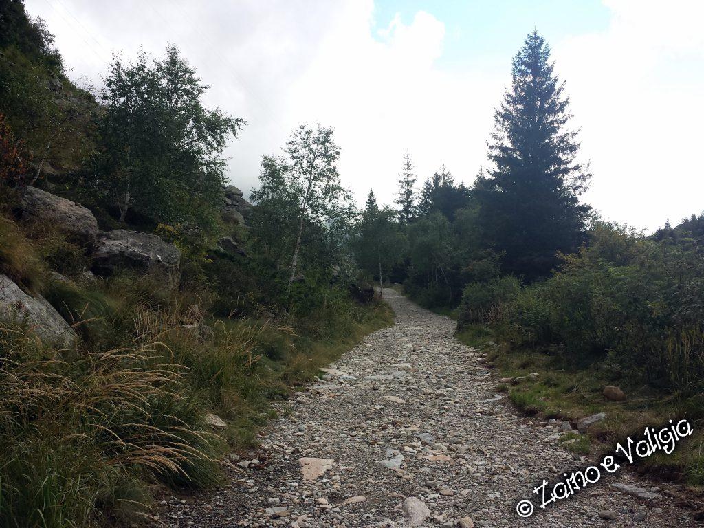 sentiero lago del mucrone