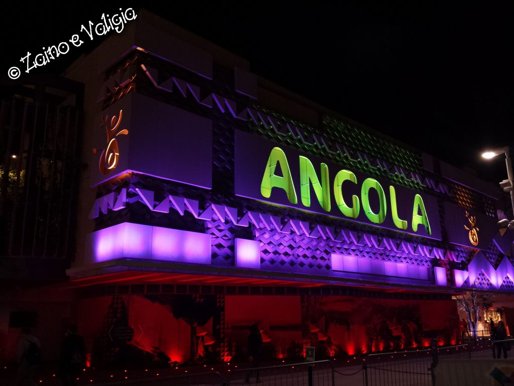 angola expo by night