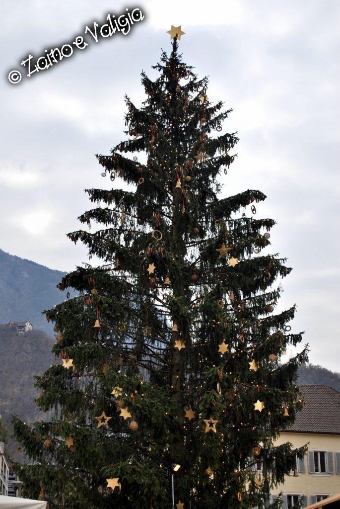 albero di natale bolzano