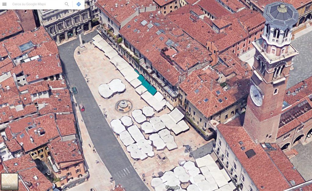 piazza delle erbe verona maps
