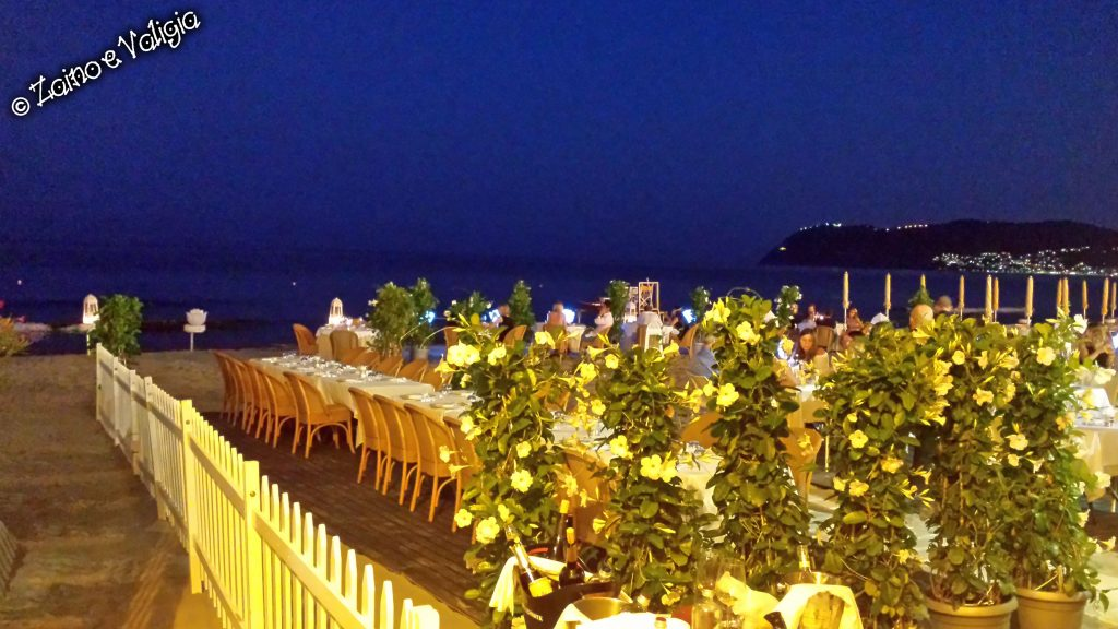 ristorante spiaggia alassio