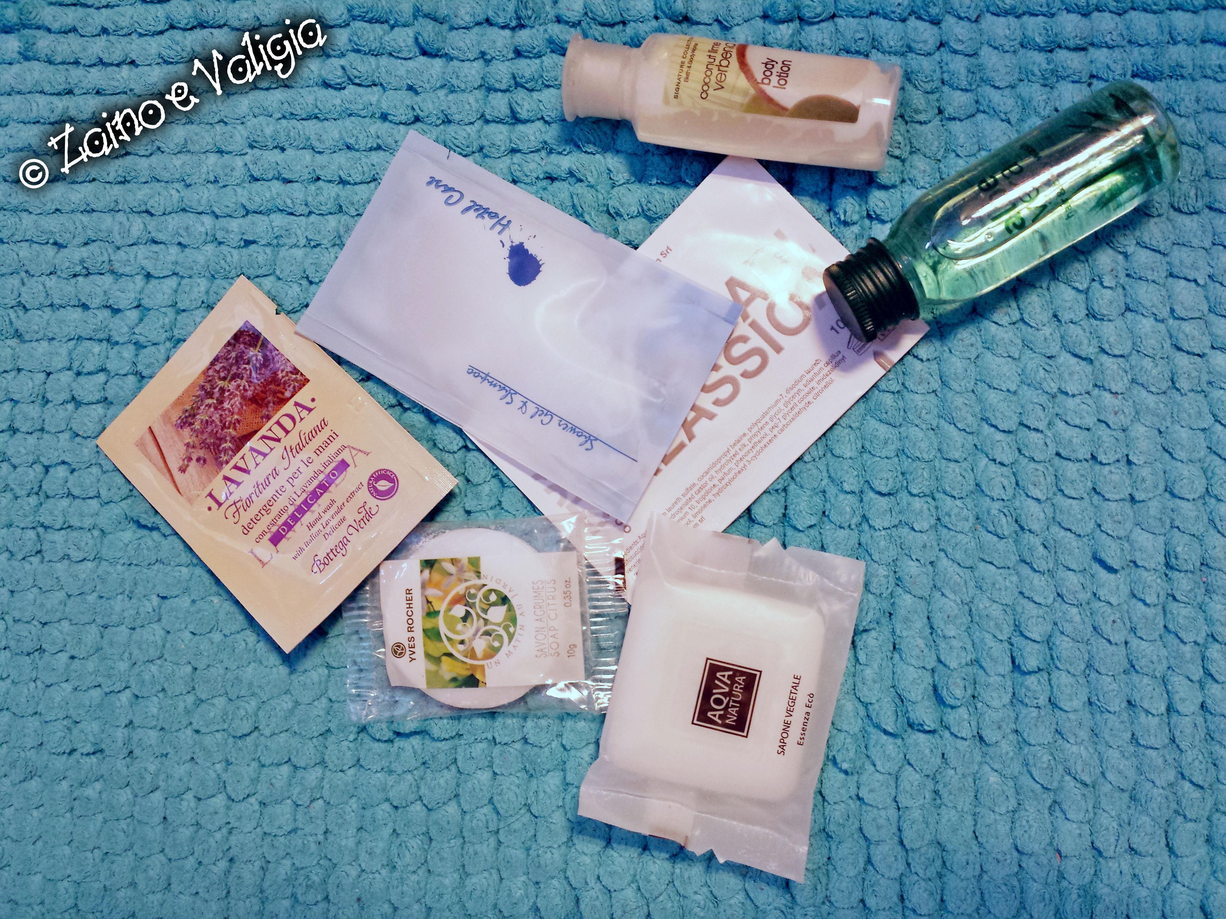 prodotti da viaggio