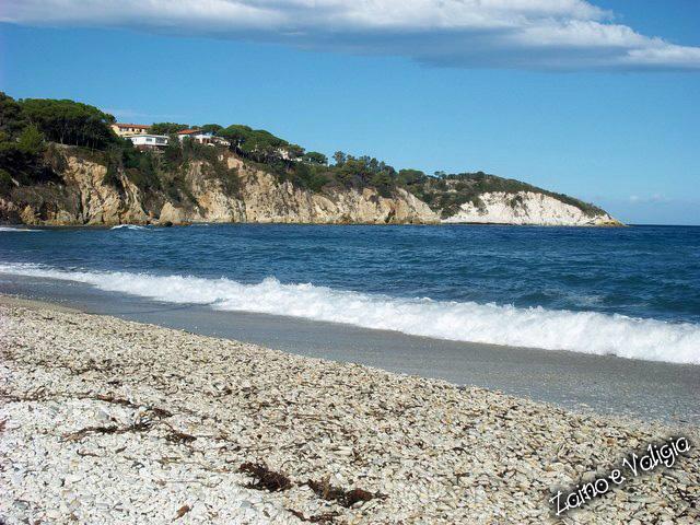 spiaggia ghiaie