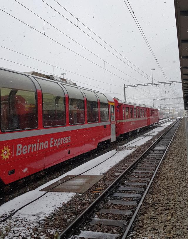 stazione trenino rosso bernina
