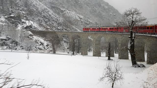 viadotto elicoidale trenino rosso bernina