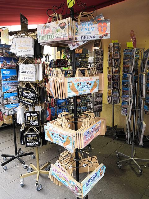 negozio souvenir nizza