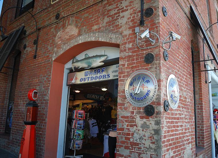 fisherman's wharf negozio