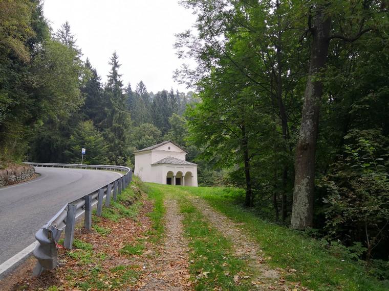 strada per oropa
