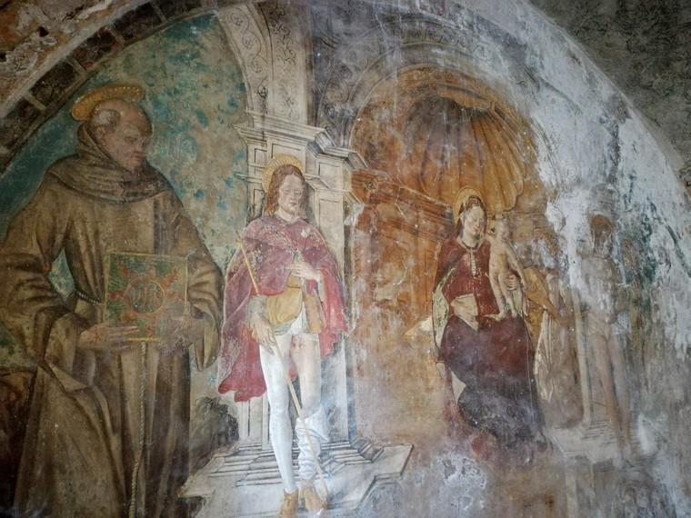 dipinti chiesa di santa giustina