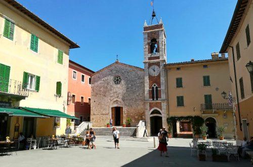 San Quirico piazza