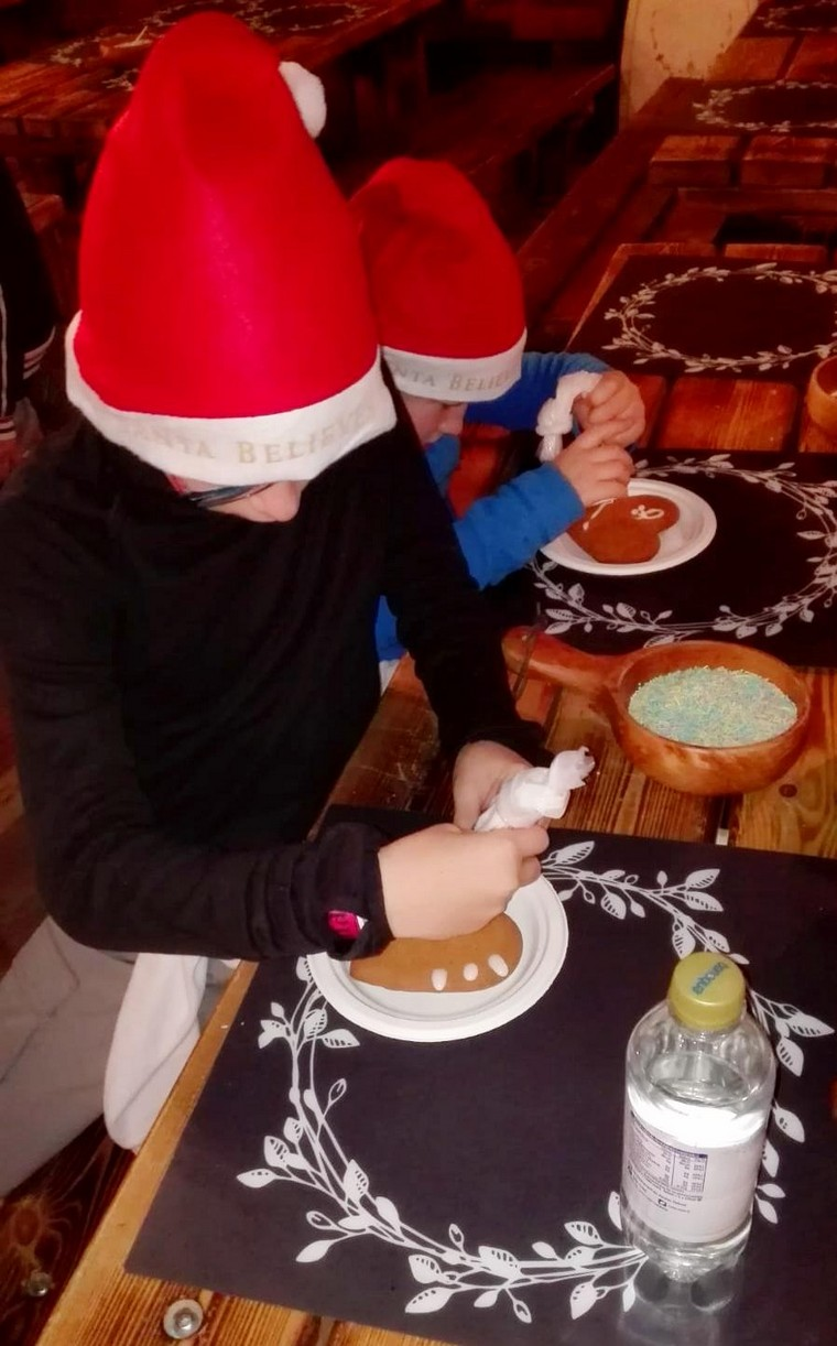 gingerbread santa park