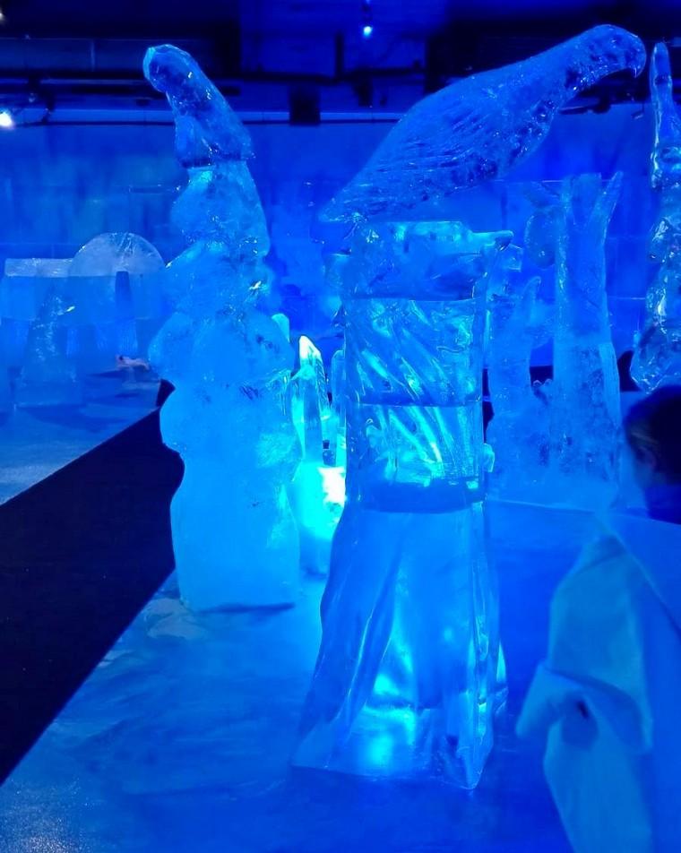 sculture ghiaccio lapponia