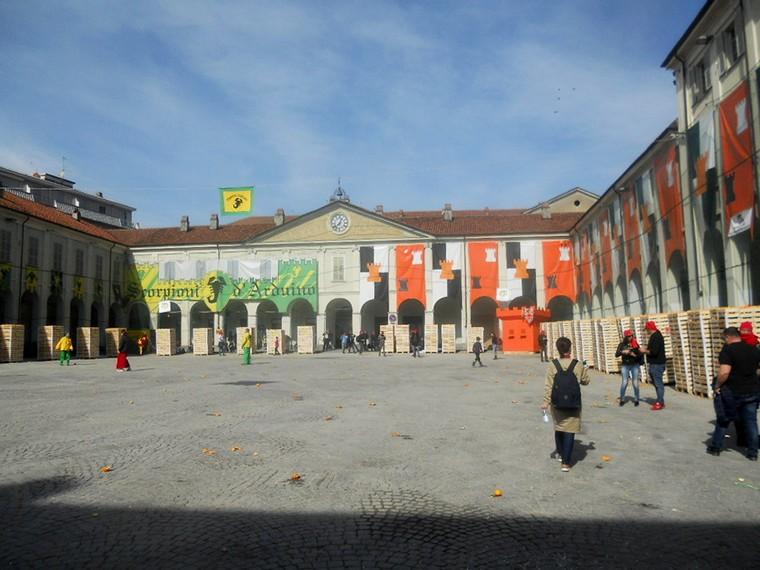 piazza carnevale ivrea